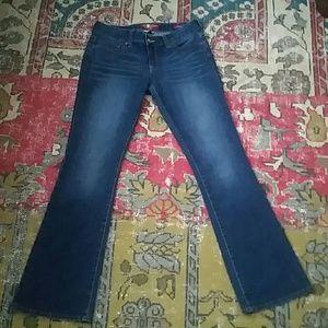 Lucky Brand boot cut size 4/27 EUC